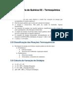 Apostila de Quimica 02 e28093 Termoquimica e28093 Professor Serginho