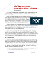 Total Consecration to the Immaculate Heart of Mary