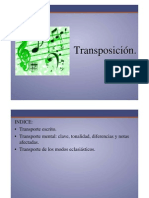 Transposición  Musical