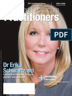 Integrated Healthcare Practitions Cover Story on Erika Schwartz, MD March 2013