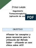 caso clinos con Metodo Dader.ppt