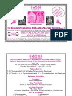 Vijaya Varusham Spiritual Calendar - Sri Ramanuja Sabha Mumbai