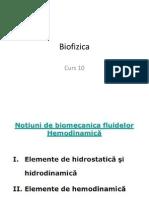 Curs 10 MD Hidrostatica. Hidrodinamica