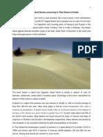 Sanddunes Rajasthan