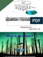 Acid Rain File AMOL