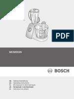 Manual Robot Bosch Mcm5529