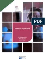 LECESE Femmes et Précarité - Février 2013