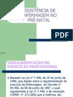 ASSISTENCIA ENFERMAGEM NO PRÉ-NATAL - SP