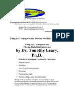 Timothy Leary - LSD & Buddha