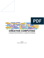 Scratch Creative Computing Guide