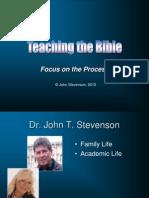 1 Bible Teaching
