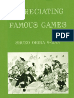 Ohira, Shuzo - Appreciating Famous Games