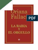 Oriana Fallaci - La Rabia y El Orgullo