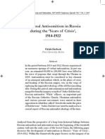 National Antisemitism in Russia 1914–1922