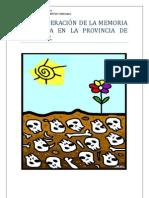 Recuperación memoria histórica en Alicante.