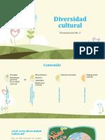 Diversidad Cultural Presentacion 3
