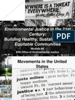 Environmental Justice in the 21st Century