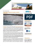 Boletín Cambio Climático nro1
