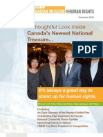 THE friends of CANADIAN MUSEUM FOR HUMAN RIGHTS - Summer 2012