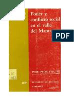 Poder y Conflicto Social en El Valle Del Mantaro