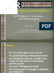 Sacred Sites Report and Recommendations by Fred Clark