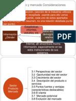 4- Sector, Producto y Mercado