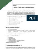 Descricion y Caracteristicas Modulos de Entrenaminet
