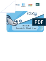 Modulo 0 - Presentacion Del Aula Virtual Cursos Asistidos