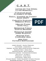"""Parkland High School's """"Phantom of the Opera"""""""