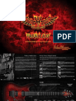 Washburn Parallaxe Guitars Brochure