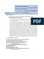 Ficha de aplicação ocupação antrópica