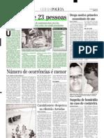 2001.01.02 - Batida Fere 23 Pessoas - Estado de Minas