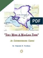 Benjamin Freedman - ''They Were A War-Like Tribe''