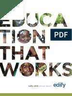 Edify 2012 Annual Report