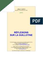 Reflexions Guillotine