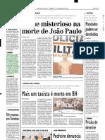 2001.03.17 - Vítima em batida entre veículos de carga no Km 895 da BR-381 - Estado de Minas