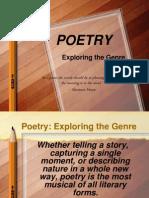 poetry exploringthegenre