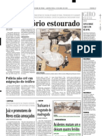 2001.04.12 - Acidentes Matam Um e Deixam Quatro Feridos - Estado de Minas