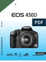CANON EOS 450 D Bedienungsanleitung