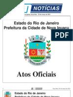 diario oficial de nova iguaçu - 05 de Março de 2013