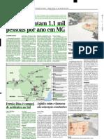 2001.07.10 - Estradas Matam 1,1 Mil Pessoas Por Ano Em MG - Estado de Minas