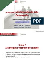 Sistemas de Dirección de Alto Desempeño - S3