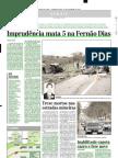 2001.09.10 - Imprudência mata 5 na Fernão Dias - Estado de Minas