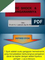 Kuliah  KBK - SEPTIC SHOCK.pptx