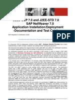 J2EE DEP STD 700 Documentation and Test Catalog