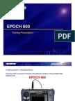 EPOCH 600 Training Presentation