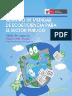Guia de Usuario - Registro on Line de Medidas de Ecoeficiencia 2012