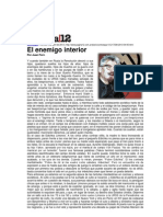 Pag12 - ForN, Juan - El Enemigo Interior