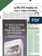 2001.12.16 - Colisão entre ônibus e van mata duas pessoas - Estado de Minas