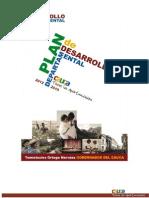 Plan de Desarrollo Departamental Del Cauca 2012_2015